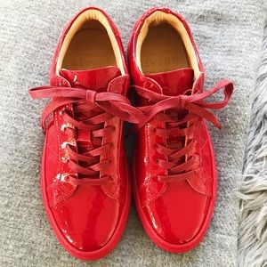 Greats Brand Ruby Red Sneakers